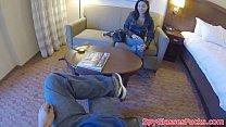 POV fucked beauty filmed on spycam porn videos