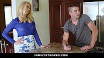 FamilyStrokes - Son Gives StepMom Oral Sex Unde...