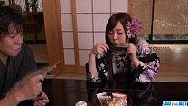 Rino Sakuragi deals cock in each of her tight love holes porn videos