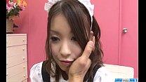 Nao Kojima Japanese maid fucks with her master porn videos