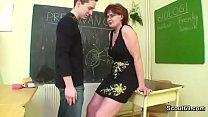 German Mom teach young boy how two fuck hardcor...