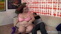 Mature BBW Lady Lynn fucks a young boy so silly porn videos