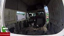 cámara.gui022 con voyeur vídeo abandonada. furgoneta una en gorda la a Enculada