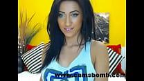 Webcam Brunette Live Show - www.camsbomb.com