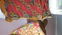 Cum on wife's lungi Textile batik motif AYU 680 porn videos
