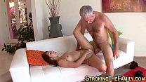 Смотреть порно грудастая старшая сестра хочет большой член младшего брата