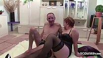 German Granny and Grandpa in Porno Casting for Money porn videos