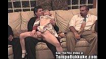 bisexual britni gets a tampa bukkake cheerleader bang
