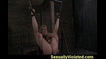 Big tittie slut hung by ankles part 2 of 2