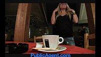 PublicAgent Blonde cafe waitress fucks in the staff toilets porn videos