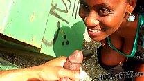 !! car in pleasure blowjob gives wife Ebony