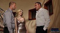 Порно с силиконовыми блондинками