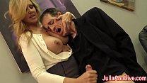 tai phim sex -xem phim sex Sexy Milf Julia Ann Milks Him on Date Night!