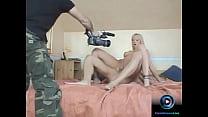Behind the scenes footage of hardcore sex scene...