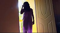 desi girl dancing in transperent nighty boobs visible in balcony...bouncing boobs