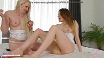 Порно блондинки в чёрной сетке