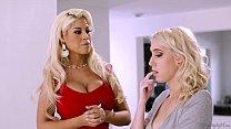 Bridgette B visits her Friend's Daughter Cadence Lux