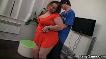 Секс зрелых страстных толстых блондинок видео