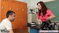 Redhead sex teacher Syren De Mer fucking in the...