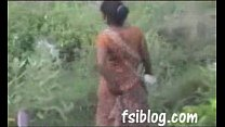 Ragni village girl outdoor peeping