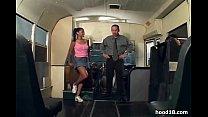 Black chick fucking on the school bus porn videos
