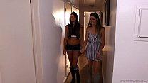 Cassandra Nix And Jessie Andrews Enjoy Lesbian Sex