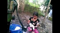 BANGLADESHI VILLAGE GIRL BATH porn videos