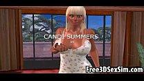 Hot busty 3D cartoon babe sucking and fucking porn videos
