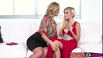 mom her by fingered pussy wet her gets pussy naomis teen Blonde