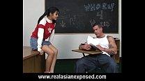 teacher pervert her fucks schoolgirl Asian