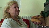 cock yummy tastes granny busty enanas