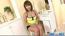 Akiho Nishimur slammed deep in her hairy and ti...