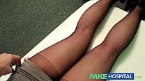 Fake Hospital G spot massage gets hot brunette patient wet porn videos