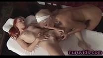 Cute MILF Diana Doll in lesbian massage