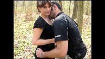 baiser en foret