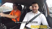 Fake Driving School Jasmine Jae fully naked sex in a car porn videos