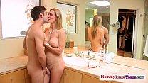 teen deepthroat watches teacher mature Busty