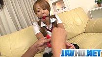 Karen Yuuki gets fucked in raw Asian bondage porn show porn videos
