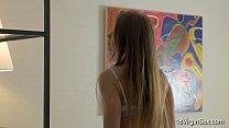 18 Virgin Sex - Virgin teen Jacqueline enjoys masturbation porn videos