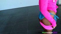 Interracial loving teen riding big black cock porn videos
