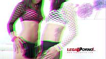 Kate Black & Shrima Malati anal & DP 4some for Legal Porn SZ1002 thumbnail