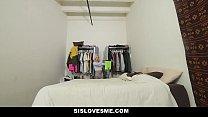 SisLovesMe - Hot Teen Stepsis Fucked By Pervy Bro porn videos