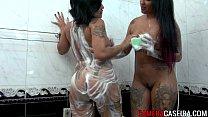 Videos de Sexo Japinha tesuda no cio pegando na hora do banho
