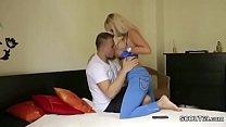 MILF Mother Seduce 18yr old Young Boy with Big ...