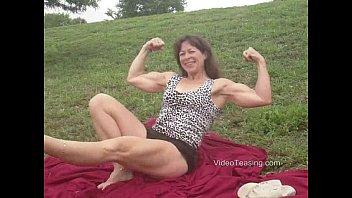 Patty - scissoring & mixed wrestling