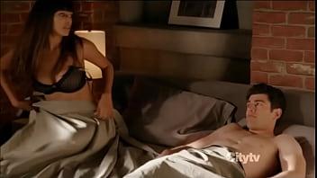 Hannah simone nipple slip