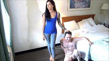 Ballbusting: goddess marley brinx destroys the testicles of andrea dipre