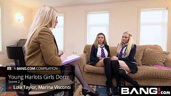 Porno Movil Bang.com sexy teen harlots have fun in the dorms