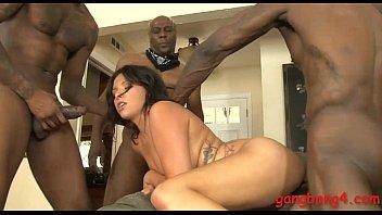 Danica dillon dped by big black boners