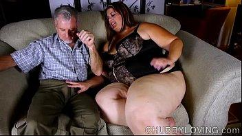 Super sexy big beautiful woman enjoys a hard fu...